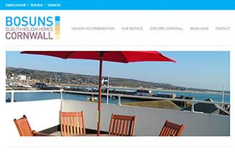 vacation rental website design bosuns