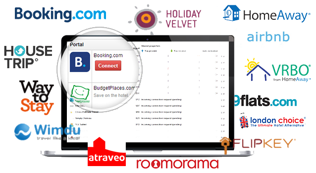 channel manager inside  the vacation rental software
