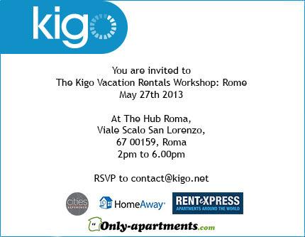 Kigo Vacation Rentals Workshop: Rome