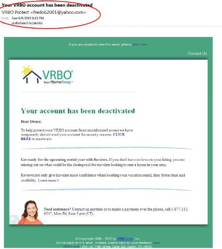 VRBO+Fraud