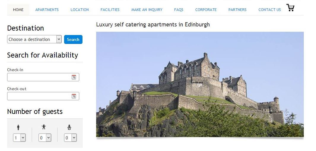 Vacation Rental Sample Edinburgh at Home