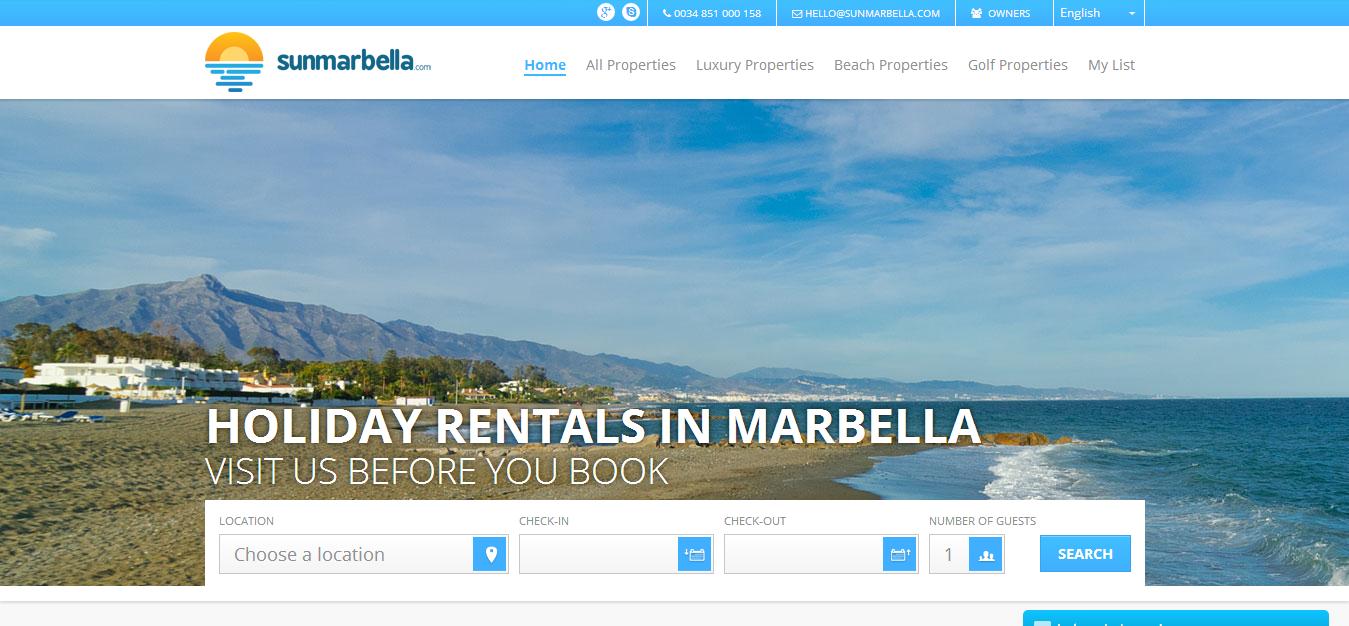 Vacation Rental Sample SunMarbella