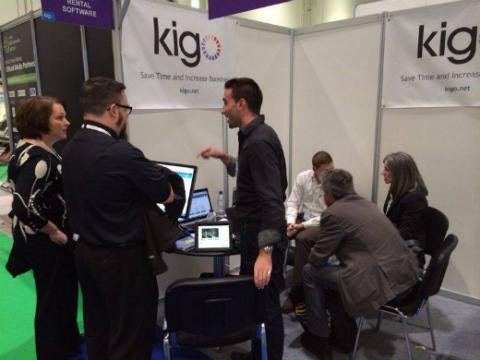 travel tech show kigo demo