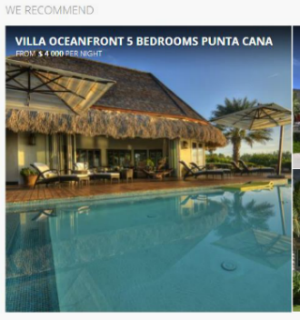 Vacation Rental Website Sample Volalto