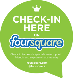 Foursquare check in
