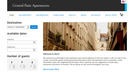 centralparis-website-template