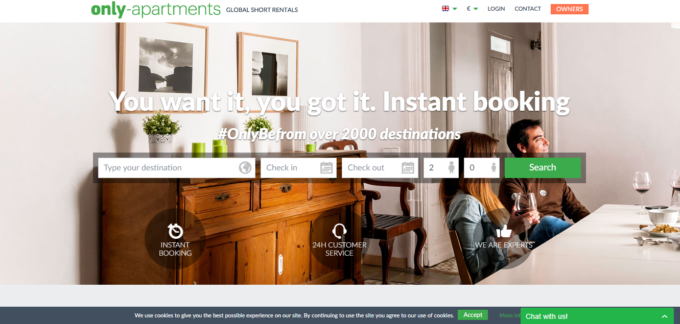 Vacation rental marketing with Kigo and Only Apartments