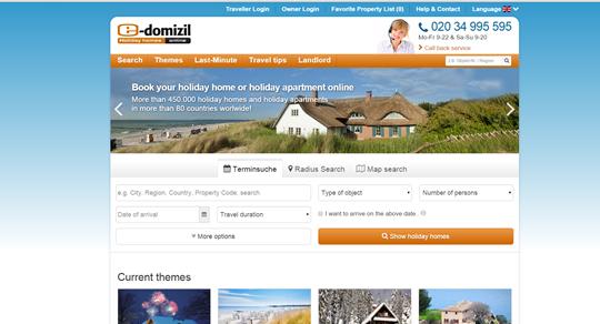 List on e-domizil.com through Kigo