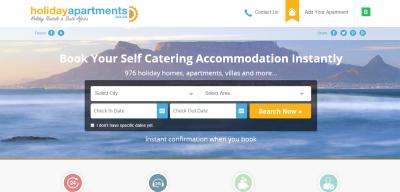 List with Holiday Apartments through Kigo
