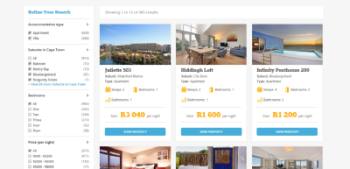 Advertise on the biggest vacation rental website in South Africa