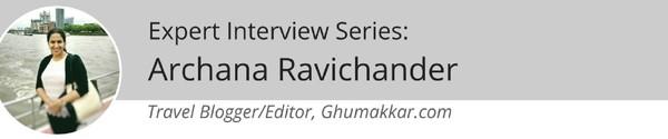 Archana Ravichander Ghumakkar Banner