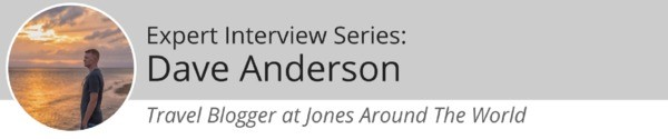 Dave Anderson Jones Around The World Banner